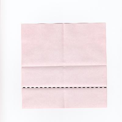 メッセージ用ハートの折り紙2