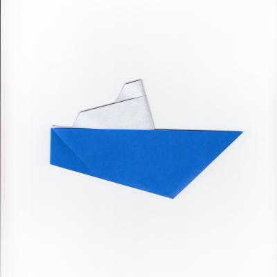 船の折り紙