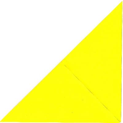 キツネの折り方2