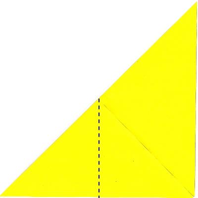 キツネの折り方3
