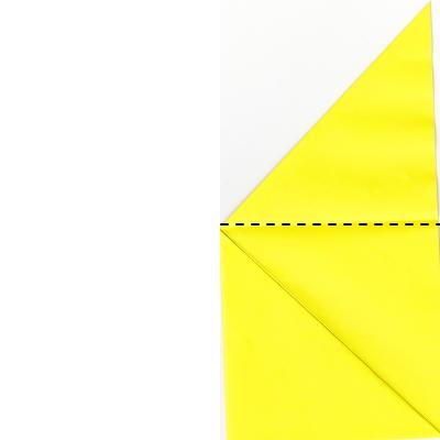 キツネの折り方4