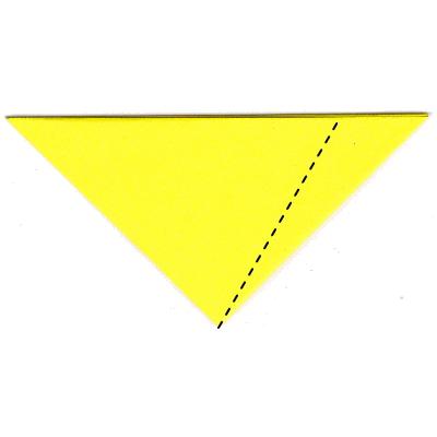 キツネの折り方8
