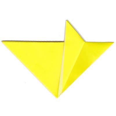 キツネの折り方9