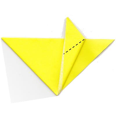 キツネの折り方10