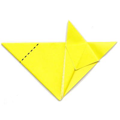 キツネの折り方11