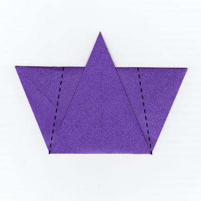 簡単な男雛の折り紙5