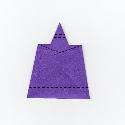 簡単な男雛の折り紙6