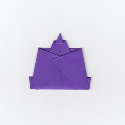 簡単な男雛の折り紙7