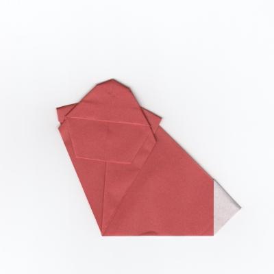 猿の折り紙