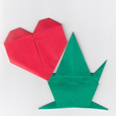 妖精の折り紙