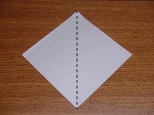 立ち姿の仙人の折り紙01