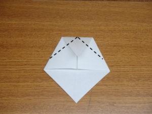 立ち姿の仙人の折り紙04