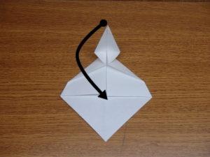 立ち姿の仙人の折り紙09