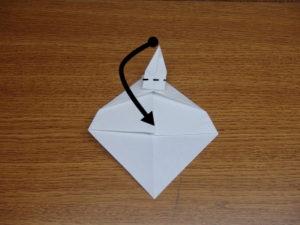 立ち姿の仙人の折り紙12