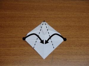 立ち姿の仙人の折り紙13