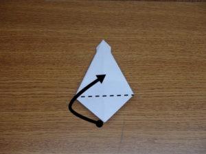 立ち姿の仙人の折り紙16