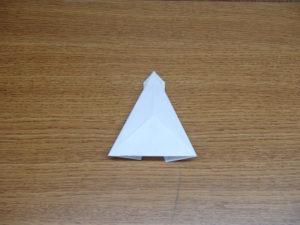 立ち姿の仙人の折り紙17