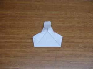 立ち姿の仙人の折り紙19