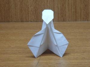 立ち姿の仙人の折り紙23