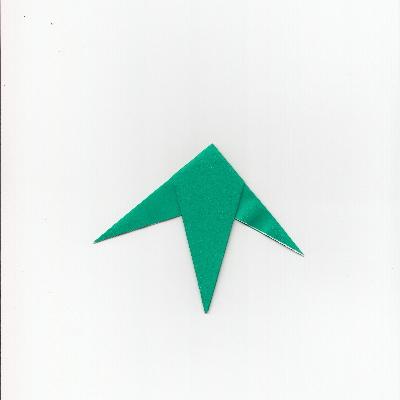 笹の折り紙