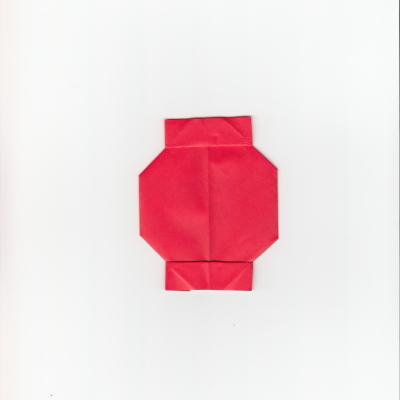 提灯の折り紙