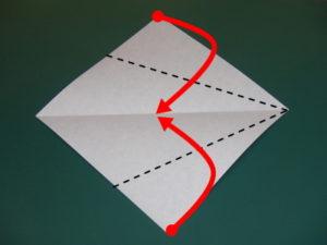 簡単な蛇の折り方02