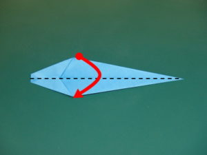 簡単な蛇の折り方06