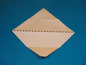 簡単な子供の蛇の折り紙01