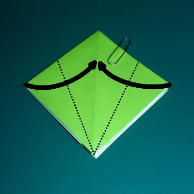 小鳥の折り紙7