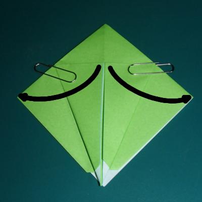 小鳥の折り紙8