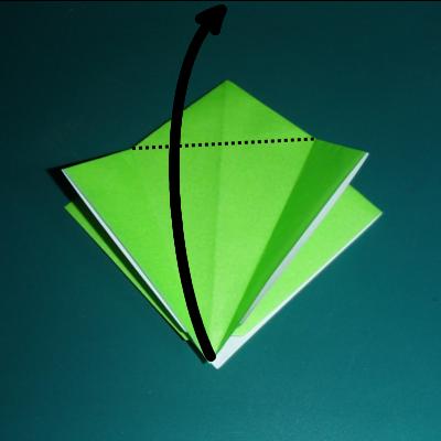 小鳥の折り紙9