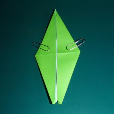 小鳥の折り紙11