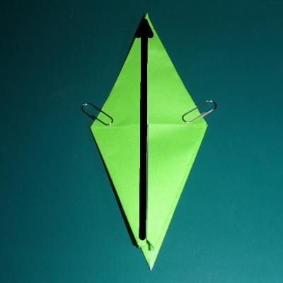小鳥の折り紙13