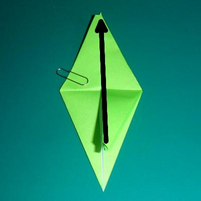 小鳥の折り紙14