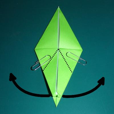 小鳥の折り紙16