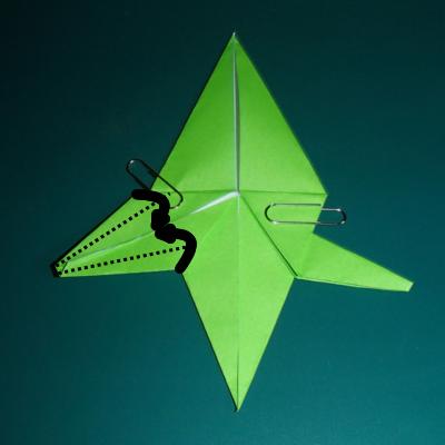 小鳥の折り紙18