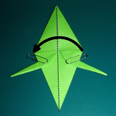 小鳥の折り紙21