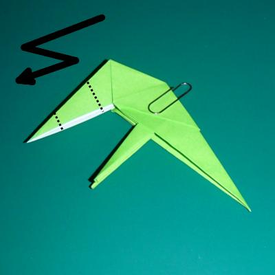 小鳥の折り紙23