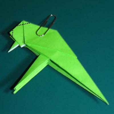 小鳥の折り紙24