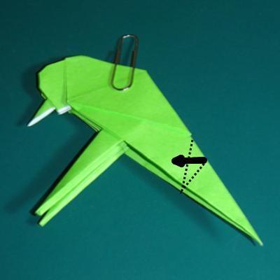 小鳥の折り紙25