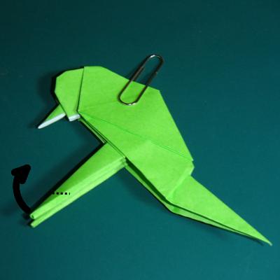 小鳥の折り紙26