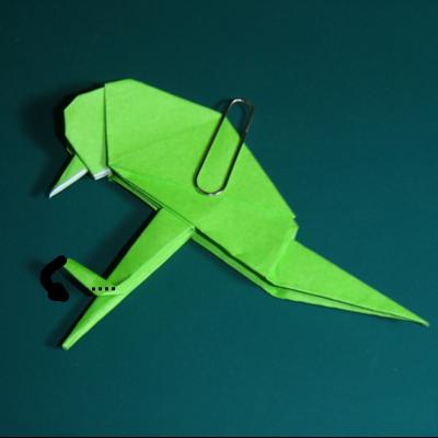 小鳥の折り紙27