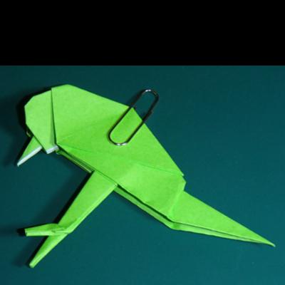 小鳥の折り紙28