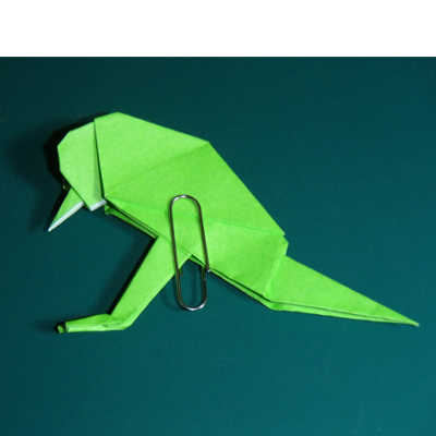 小鳥の折り紙29