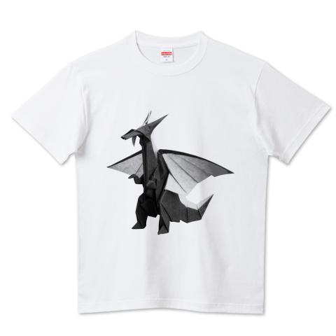 ブラックドラゴンの折り紙T