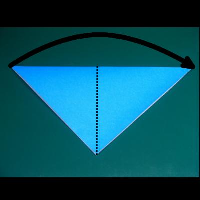 カワセミの折り紙02