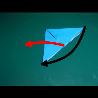 カワセミの折り紙03