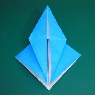 カワセミの折り紙08