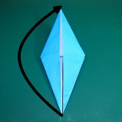 カワセミの折り紙09