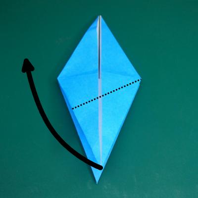カワセミの折り紙10